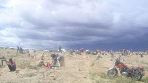 Добыча золота в Монголии