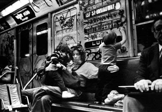 Нью-йоркская подземка в 80-е годы