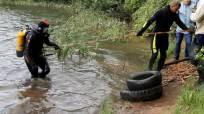 Кировские активисты ОНФ вместе с водолазами очистили пруд в Костино