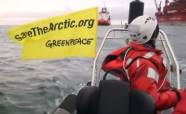 Спасти Арктику ( Гринпис атаковал нефтяную платформу)