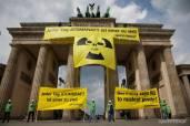 Фото:©Gordon Welters/Greenpeace Большинство россиян не поддерживают атомную