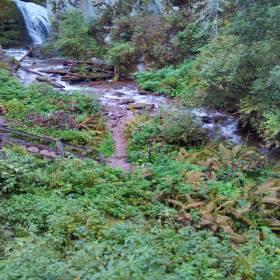 Путь к водопаду Чоодор