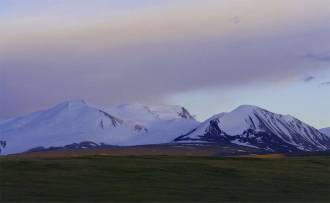 Восход над Табын-Богдо-Ола. (Пять Священных Вершин)  - Фото Игоря Хайтмана
