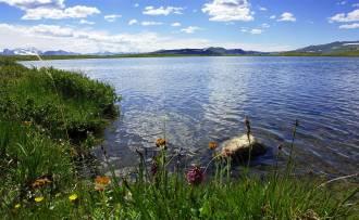 Озеро Кальджинкуль - Фото Игоря Хайтмана