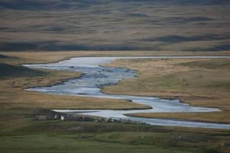 Изгибы реки Ак-Алахи - Фото Игоря Хайтмана