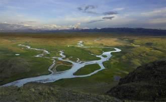 Слияние рек Ак-Алаха и Калгуты - Фото Игоря Хайтмана