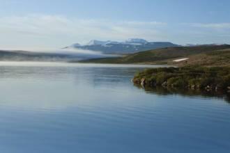 Утро над озером Кальджинкуль - Фото Игоря Хайтмана