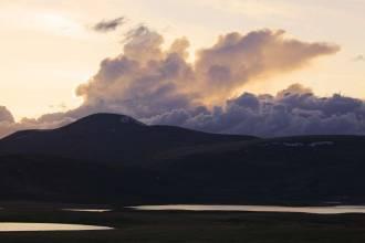 Сумерки над озером Кальджинкуль - Фото Игоря Хайтмана