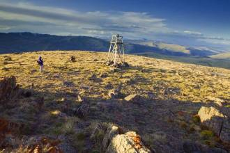 Вид на Южно-Чуйский хребет - Фото Игоря Хайтмана