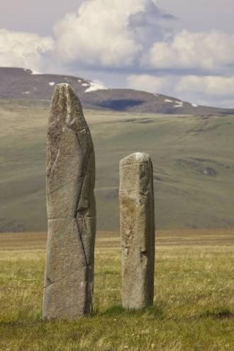 Оленные камни. Памятник Аргамджи - 1, объект №7. Датировка приблизительно VIII -