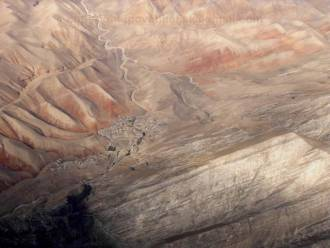 Афганистан вид с высоты птичьего полета