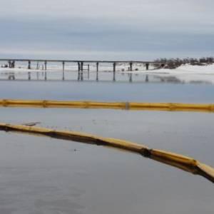 На Сахалине рядом с Дагинскими горячими источниками  произошел нефтяной разлив