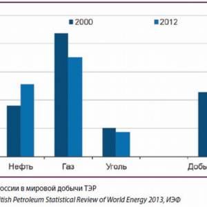 Россия как глобальный поставщик энергии