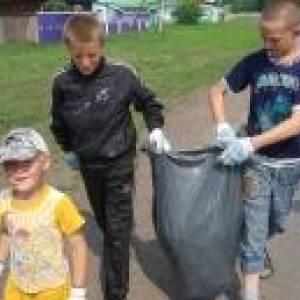 Акция «Село – наш дом, наведем порядок в нем!» в Кожевниковском районе