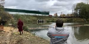 После обращения ОНФ в Москве привлечены к ответственности виновные в загрязнении Хованского пруда