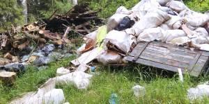 Кировские активисты ОНФ проинформировали профильное ведомство о свалке потенциально опасных отходов вблизи деревни Кручина