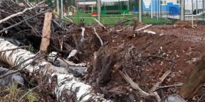 Кировские активисты ОНФ призвали власти Котельнича ликвидировать свалки строительных отходов вокруг нового детсада