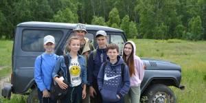 Кулундинский заказник – идеальное место  для становления юных исследователей