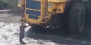 Загрязнение природы Бачатский угольный разрез
