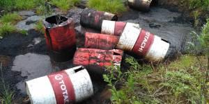 В Кировской области после сигнала ОНФ полиция начала проверку по факту загрязнения почвы нефтепродуктами