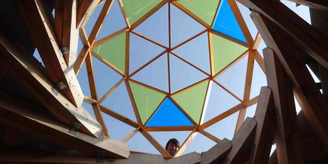 Самоподдерживающаяся крыша. Фото Волнин В.
