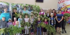 Экологический праздник в селе Хомутово