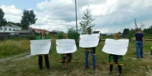 Селькупы в защиту сибирской Тайги