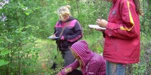 Работа на пробных площадках в экспедиции, МБОУ ДОД «Детский эколого-биологически