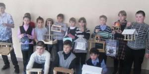 Активные участники проекта «Кормушка» Фото: Борзунова Ольга Анатольевна