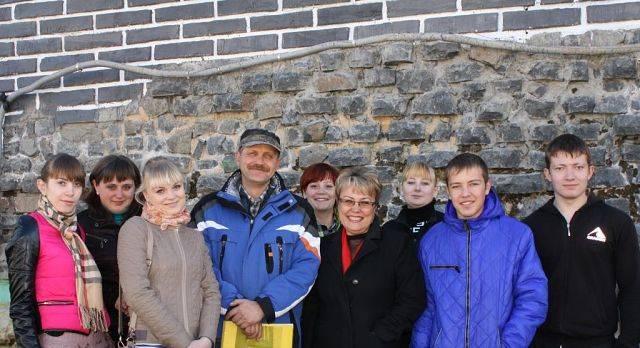 Великая Стена в Краснокаменске