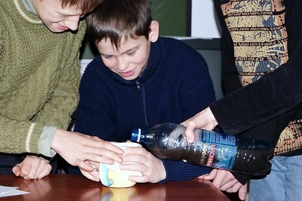 эксперимент с водой