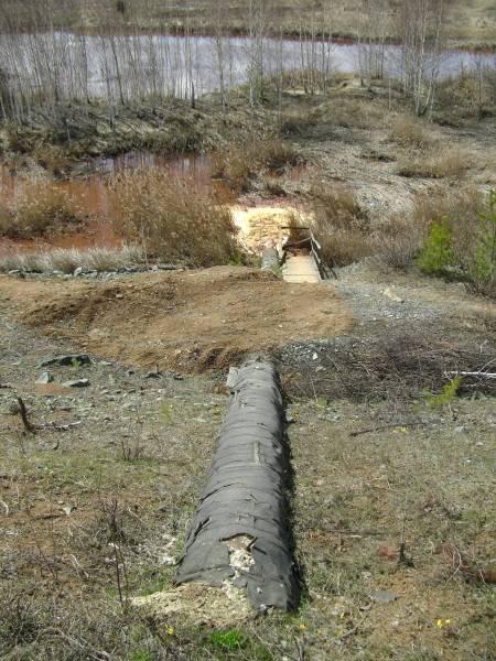 Экологическая катастрофа в свердловской области на реке Чусовая.