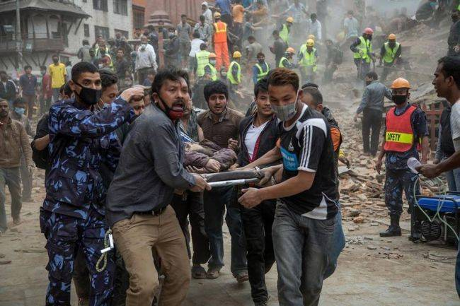 Разрушительный рок непальских землетрясений