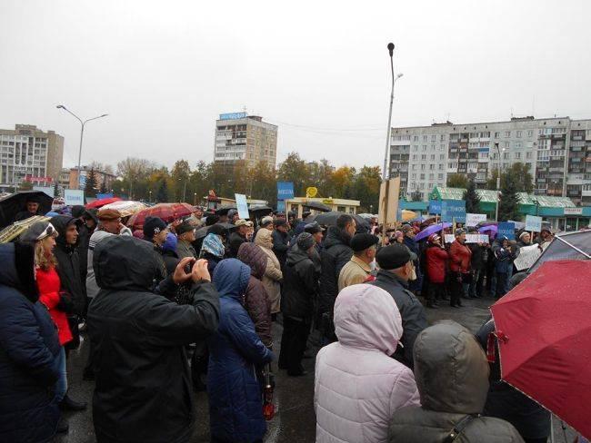 В Новокузнецке прошел массовый всекузбасский антиугольный митинг