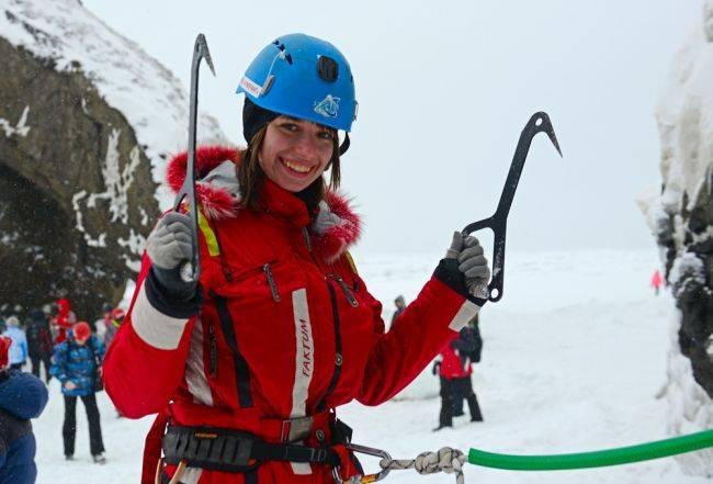 Первый ледовый фестиваль на Сахалине