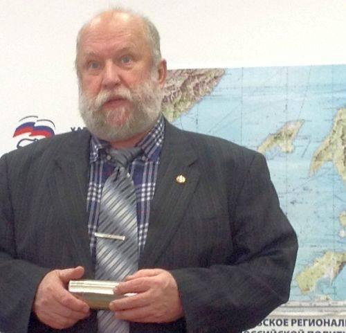 Председатель Приамурского отдела Русского географического общества Борис Воронов