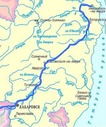 Динамика содержания минеральных форм азота в воде среднего Амура в зимнюю межень