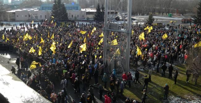 Протесты красноярцев и новые депутатские инициативы