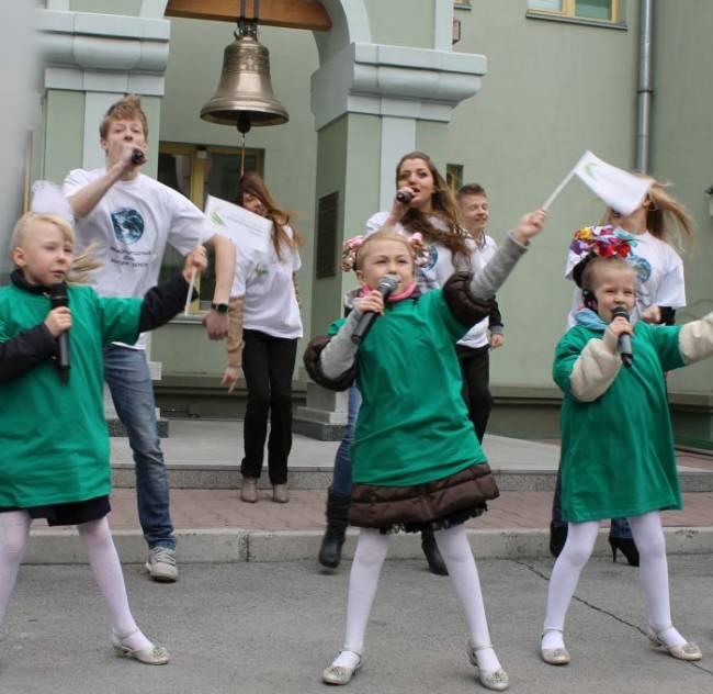 Как в Новосибирске День Земли встречали