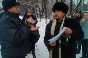 Как протестуют в Новокузнецке