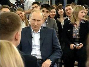 В Томске Путина спросили, почему Рыбоохрана мешает общественности проводить рейд