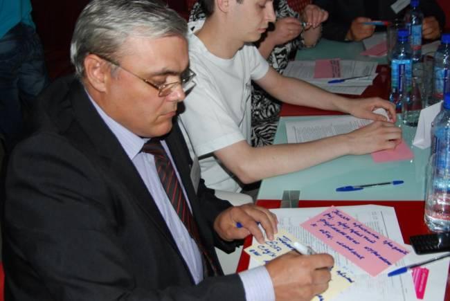 Деловая игра в Ачинске для желающих «научиться участвовать»