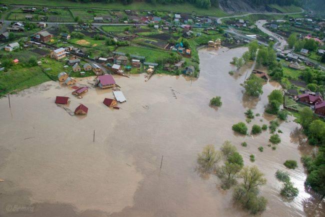 Большая вода на Алтае (фото)
