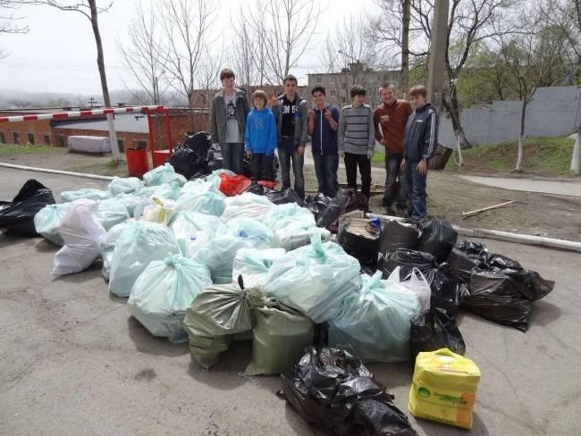 Владивосток стал чище благодаря школьникам!