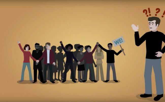 Как объединить людей для социальных перемен