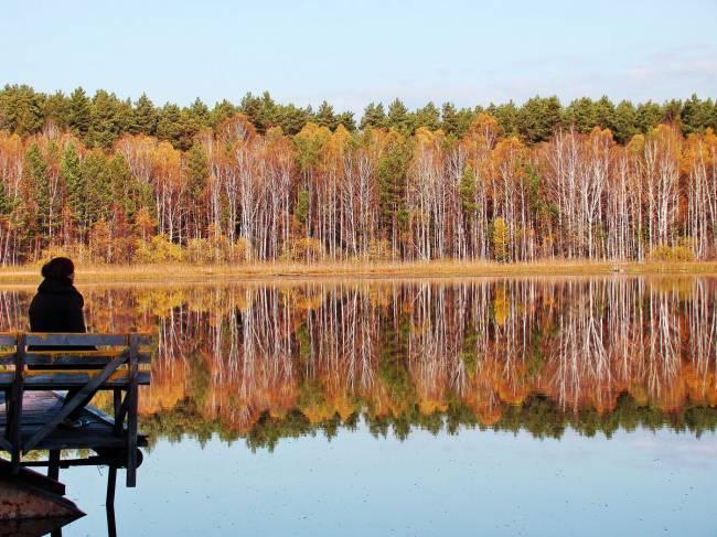 Осень. Данилово озеро