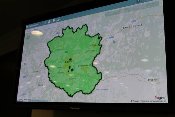 В Кировской области принято решение о создании «зеленого щита»
