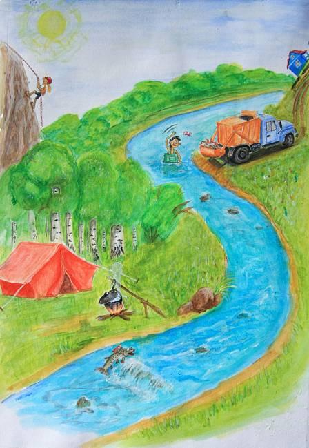 Международный экологический лагерь на Издревой