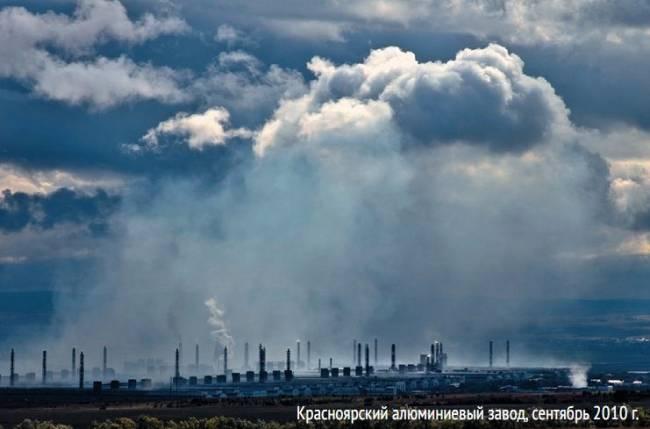 Оценка воздействия Красноярского алюминиевого завода на качество воды  р. Черёму