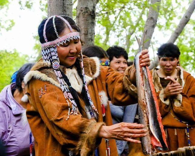 Фотоконкурс для коренных народов Дальнего Востока РФ «Коренные народы и лосось»
